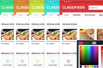 Classifieds Directory WordPress theme