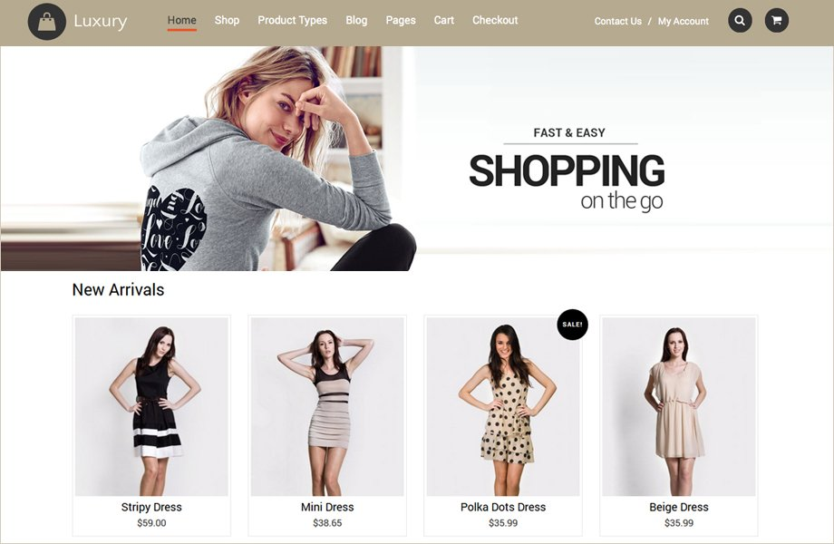 Luxury-A-Flexible-Responsive-e-Commerce-best ecommerce wordpress themes