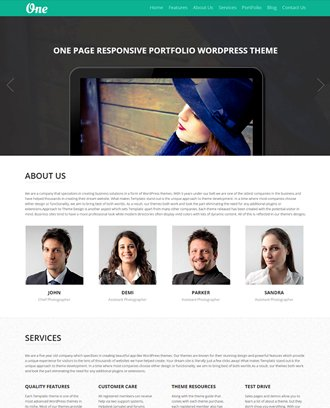 OnePager theme