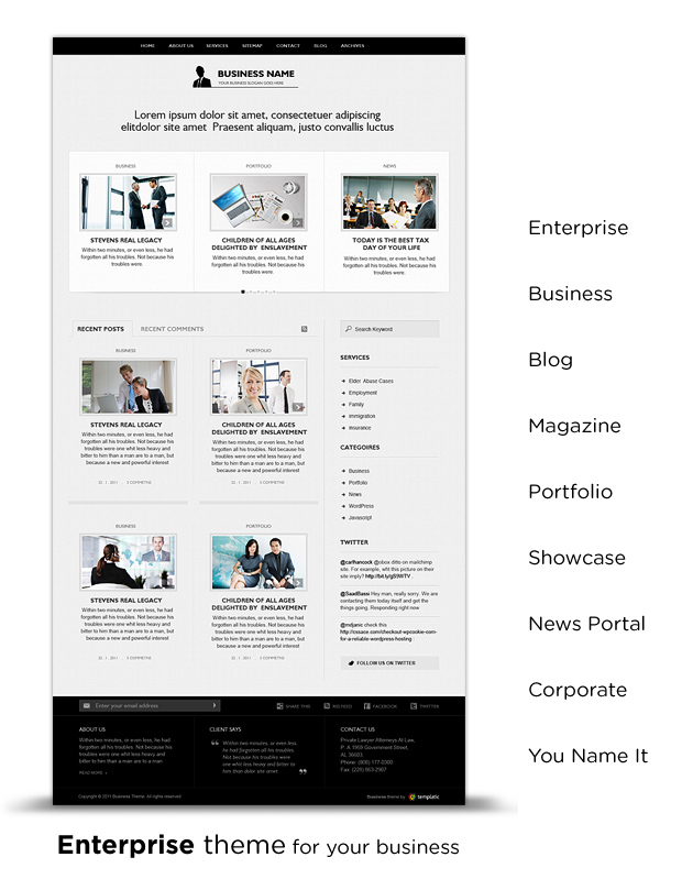 iBusiness Theme WordPress