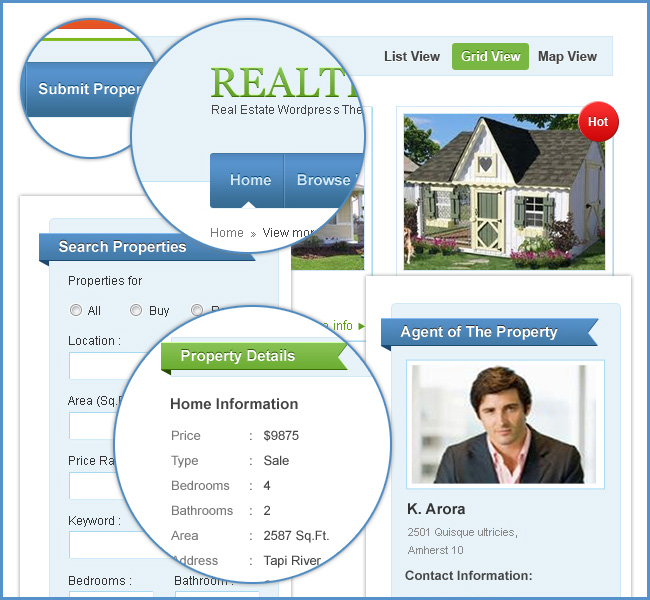 theme for real estate