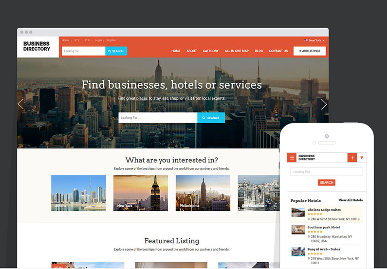 2016 Business Directory Theme