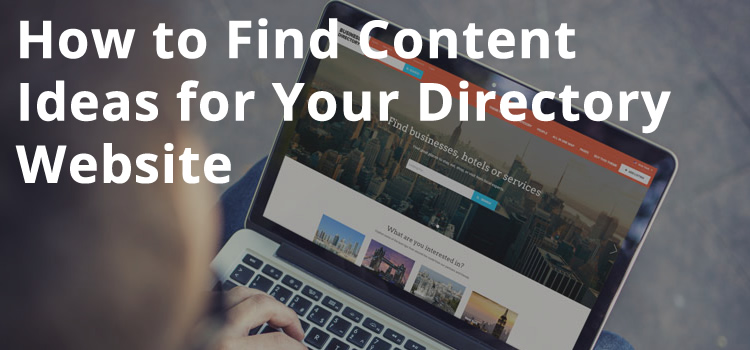 Content-for-directory-website