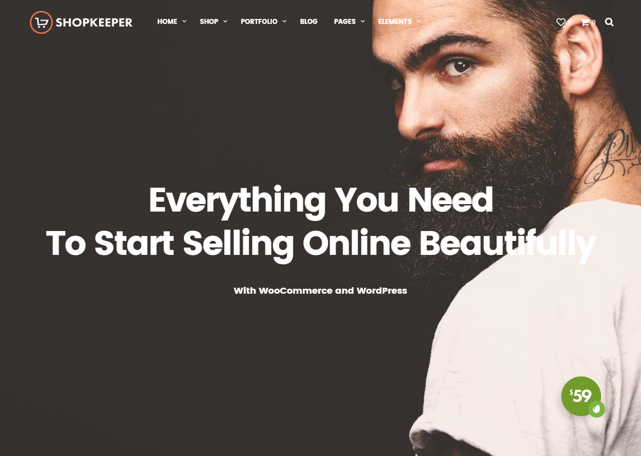 Shopkeeper best ecommerce wordpress themes