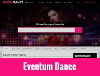 Events Planner WordPress Theme