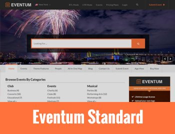 WordPress Event Registration Theme