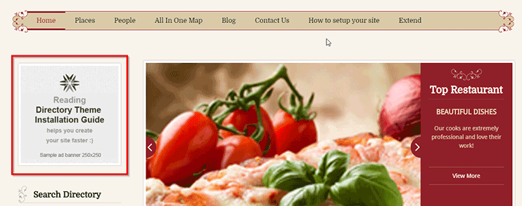 create yelp clone website