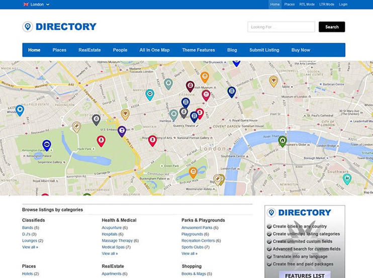Create a contact directory software