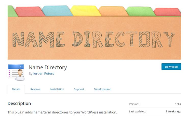 directory and listings theme