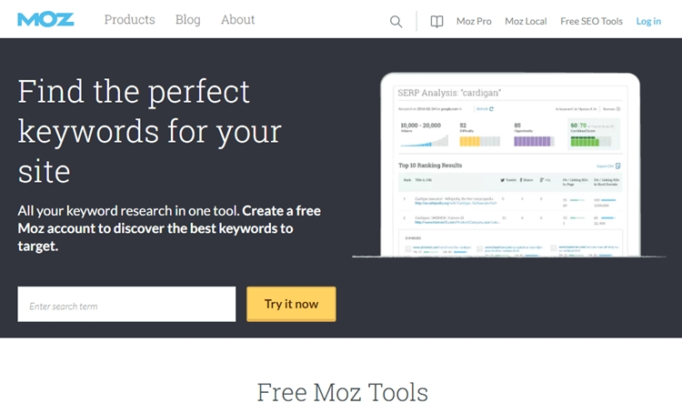 Keyword research & SEO tools for your blogs
