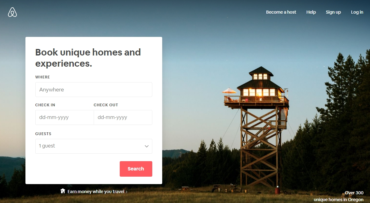 airbnb real estate